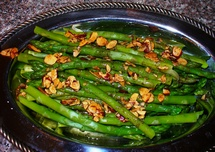 Asparagus Almandine photo by Lynne